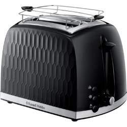 Russell Hobbs 26061-56 Honeycomb 2S - Tostadora, color negro