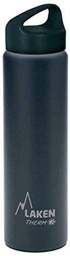 Laken Borraccia Termica Classic Thermo 0,75l TA7, Nero (Black),