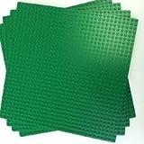 "LEGO Green Builder Base Plate 626 (10"" x 10"") lot of 4 base plates [並行輸入品]"