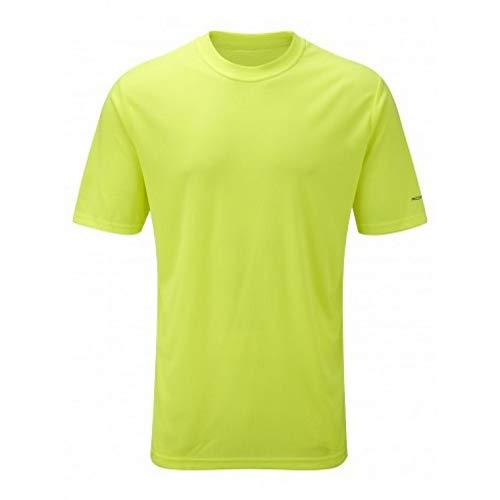 Ronhill - Running-T-Shirts für Herren in gelb, Größe XL