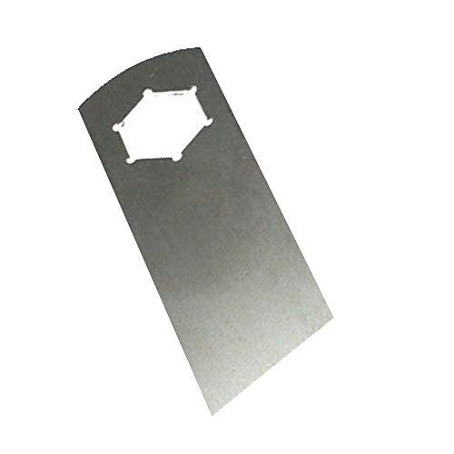 18 Edelstahl Vertikutierer Messer für Variolux Vertikutierer V-BV 38