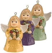 2018 Goebel Annual Angel Bell Set of 3 Gold, Indigo & Sage - 43rd Edition
