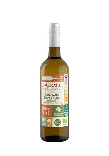 L'Auratae Catarratto Pinot Grigio Terre Siciliane IGP 2020 BIO & VEGAN, 750ml