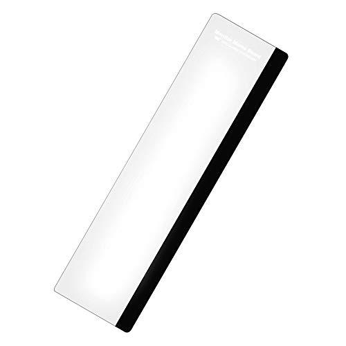 モニター用メモボード 【左側用】 全長28cm 付箋・メモの貼り付けに 粘着シートで簡単取付 モニター脇スペースを有効活用 クリアータイプ スティッキーボード オフィス ホームワーク 事務用品 FMTTAGB30C-L