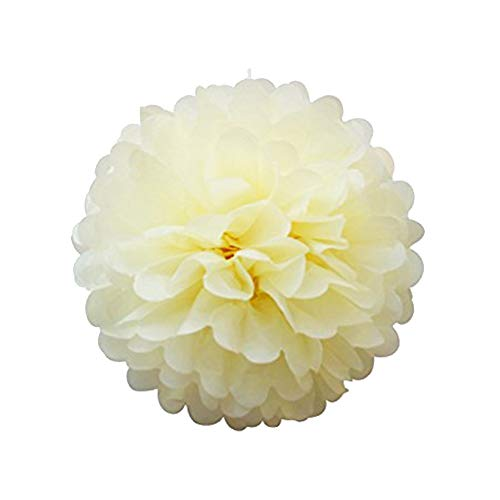 1 Stück Seidenpapier Blumen Ornamente bunt hängende Papier-Pompons zum Aufhängen Dekoration Geburtstag Dekoration