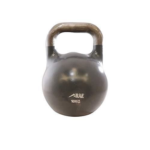 Kettlebell de Competição de Ferro Colorido para Treinamento Funcional 18 kg - Rae Fitness