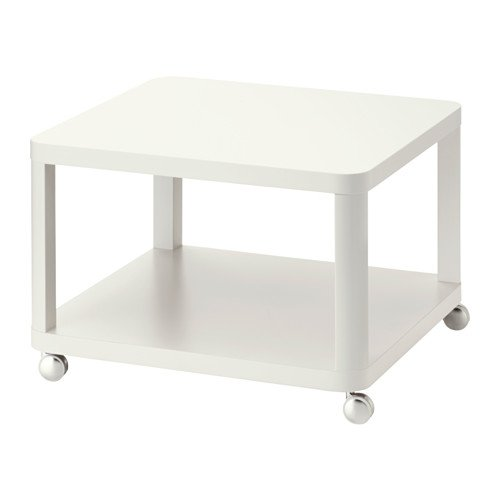 ZigZag Trading Ltd IKEA TINGBY - Tavolino su ruote bianco