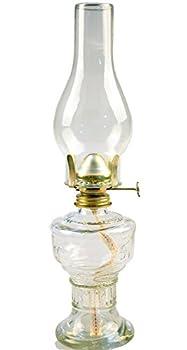 Mayflower Vintage Glass Oil Lamp