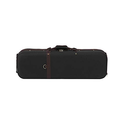 Viool Hard Case, Duurzame Oxford Stof Viool Hard Case Met Hygrometer Handvat Rits Lock Carry Straps Professionele Fiddle Hard Case Violin's Beste Vriend