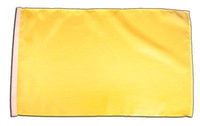 Fahne Flagge Einfarbig Gelb 30 x45 cm