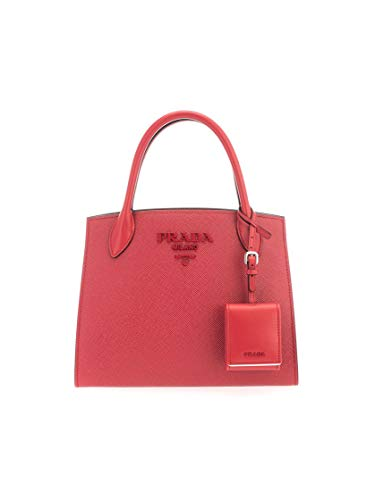 Prada Luxury Fashion Damen 1BA1562ERXF027W Bordeauxrot Leder Handtaschen   Frühling Sommer 20