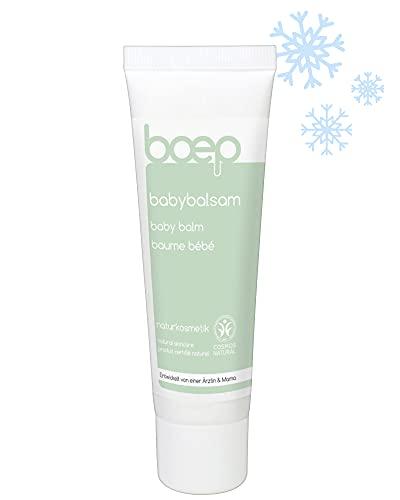 boep Baume Bébé - Crème Ultra Nourrissante Anti-Froid - Bio Huile d'Olive - Développé par une Maman Médecin (50 ml)