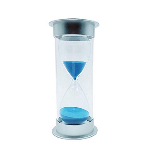 MagiDeal 45 Minutes Sabliers Minuterie Horloge de Sable Hourglass en Plastique Verre Sable Désigné Pour Jeux Cuisine Exercice
