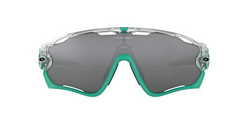 OAKLEY Jawbreaker OO9290 Gafas de sol para Hombre, Transparente/Mate/Verde