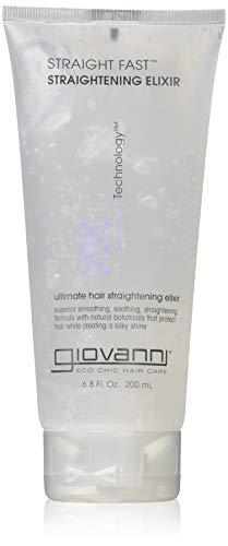 GIOVANNI- Straight Fast- Eco Chic Hair Straightening Elixir (6.8 Ounces)
