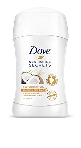 Dove Restoring Ritual Deodorant Stick 0% Alcohol Pack of 3 x 40 ml