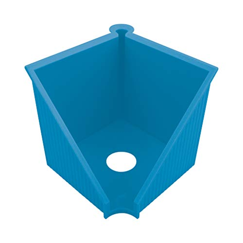 herlitz 50033454 Greenline - Portanotas (10 x 10 cm), color azul intenso
