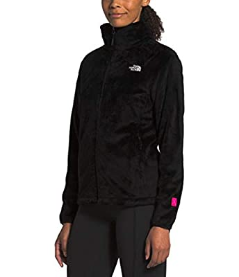 The North Face Women's PR Osito Jacket, Recycled TNF Black, Large