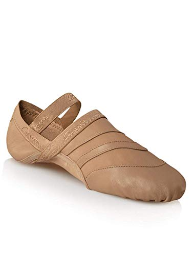 Capezio Women's Freeform Ballet Shoe,Caramel,8 M US