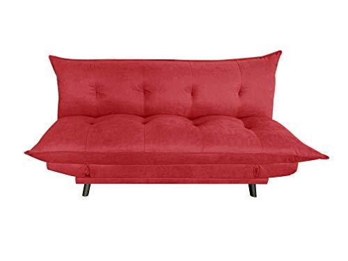 MUEBLIX.COM Sofa Cama Puma - Rojo