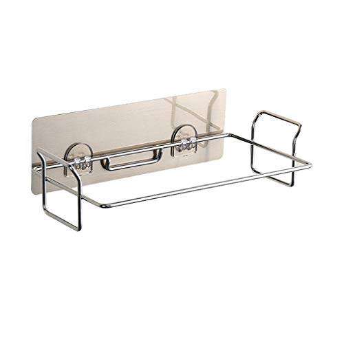 Iusun Trash Bag Holder Stainless Steel for Kitchen Cabinets Doors and Cupboards for Bathroom Bedroom Kitchen Office Hanging Kit Tool Organizer