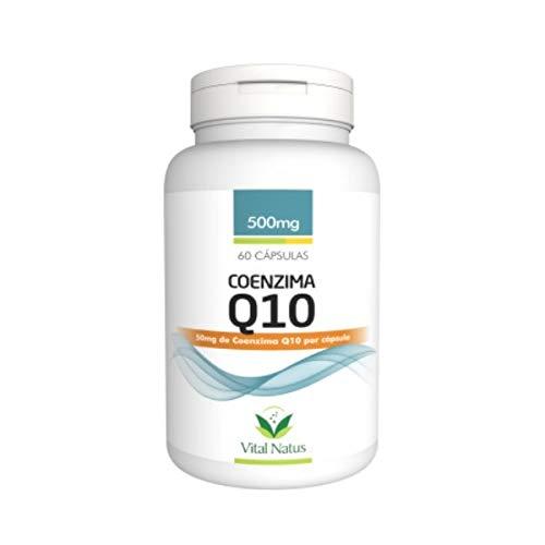 Coenzima Q10 (Ubiquinona) - 60 Cáps. - 500mg - Vital Natus