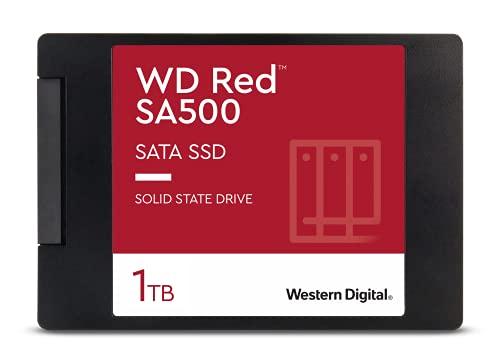 Western Digital WDS100T1R0A WD RED NAS SSD 2.5 Pollici SATA, 1 TB