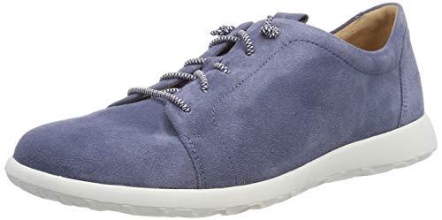 Ganter Damen Gabby-G Derbys, Blau (Jeans 34000), 40 EU