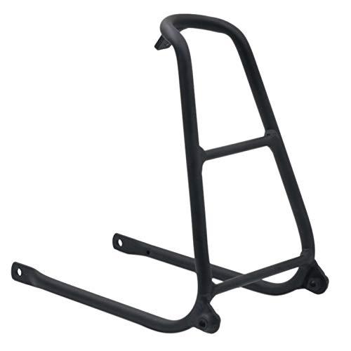 TOOGOO Bastidor Trasero Tipo Q de Aluminio para Bicicleta Brompton 148G-Negro