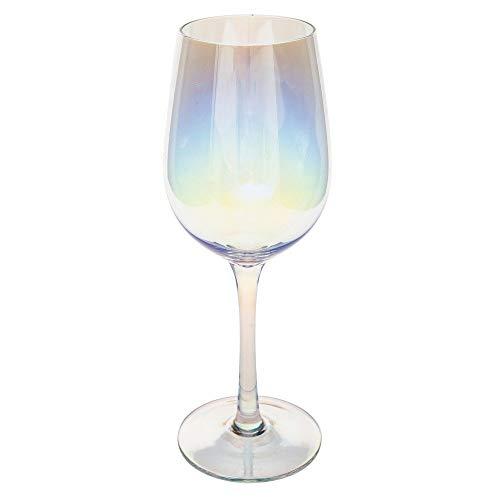 Secret de Gourmet - Lot de 6 Verres à vin irisé 38 cl collection Fantasy