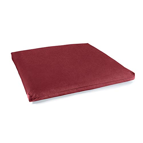 Lotuscrafts Meditationsmatte Zabuton Standard - Meditationskissen Unterlage für entspannte Meditation - Waschbarer Bezug aus 100% Baumwolle - GOTS...
