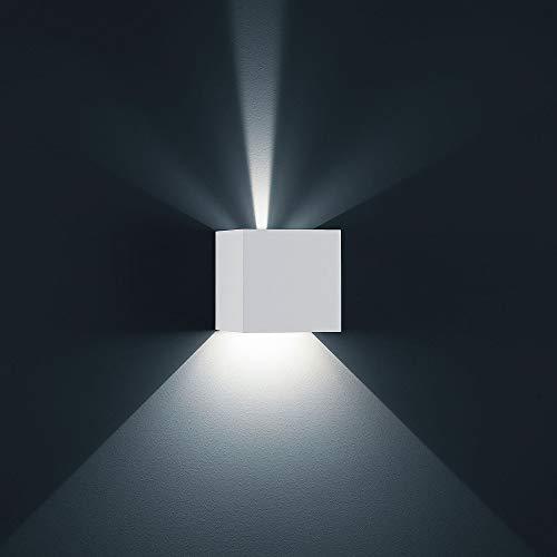 Helestra A28442.07 LED-Wandleuchte, weiß, 15 x 15 x 15 cm