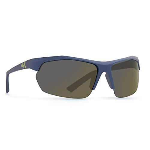 INVU Unisex Polarisierte Sonnenbrille Sportbrille A2809 Matt (A2809B), Linse Gold Spiegel