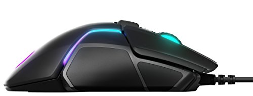 SteelSeries Rival 600 – Gaming-Maus – 12.000 CPI TrueMove3+ Dual Optical Sensor – 0,05 Lift-off-Distanz – Gewichtssystem – RGB-Beleuchtung - 7