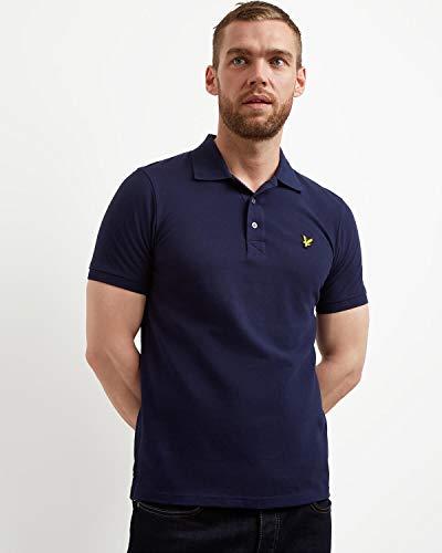 Lyle and Scott Herren Herren Poloshirt Poloshirt -SP400VB, dunkelblau, M, SP400VB