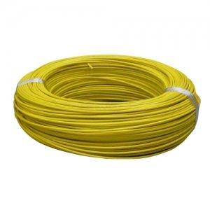 住電日立ケーブル 600V ビニル絶縁電線 アース線 より線 1.25? 300m巻 黄色 IV1.25SQ×300mキイロ