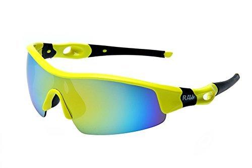 Ravs Sport - Sonnenbrille Sportbrille Fahrraddbrille Radbrille Kitesurfbrille Sonnenbrille