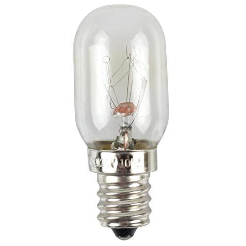 2 bombillas para frigorífico, nevera, microondas, luz de ahorro de energía para el hogar, 10 W, E12, 110 V