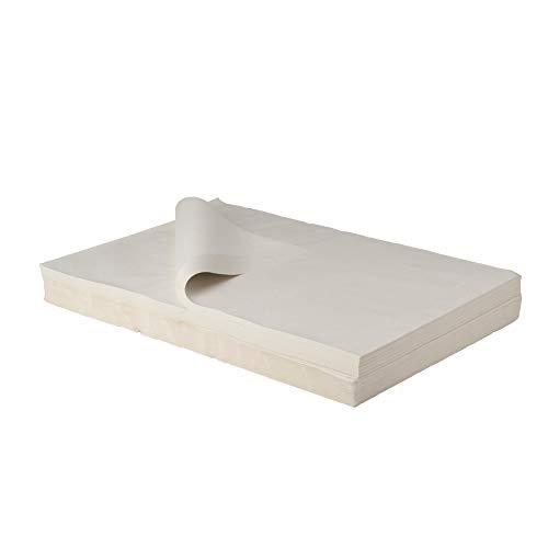 BB-Verpackungen weiße, 5 kg, Juwelierseide 50 x 75cm, Farbe: weiß, holzfrei Packseide Seidenpapier Geschirrpapier - 2