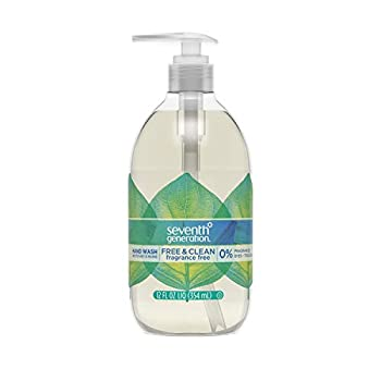 Seventh Generation Hand Wash Free & Clean Unscented Hand Soap 12 Ounce