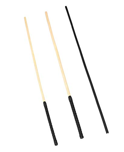 Liebe Seele 26.5'' Pliable Rattan Caning Canes Whip Riding Crop Set of 3 Pieces