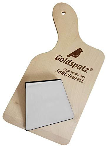 Goldspatz Ergonomisches Spätzlebrett mit Schaber - #2198S