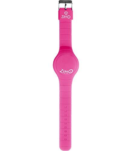 Orologio ZITTO a led con cinturino in silicone Miss pink rosa Grande