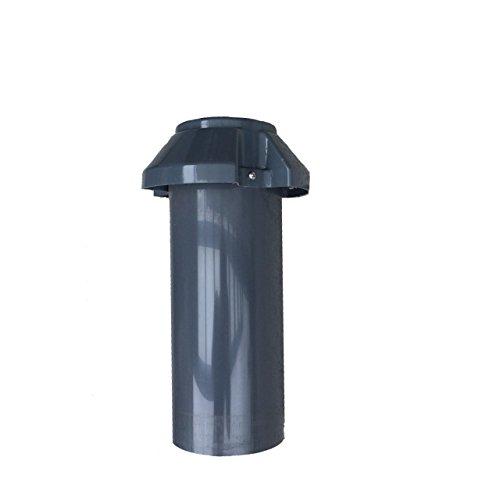 Drainagelüfter/Dachlüfter DN 100, Dachentlüftung, Abluft, Lüfter, PVC, DN 110
