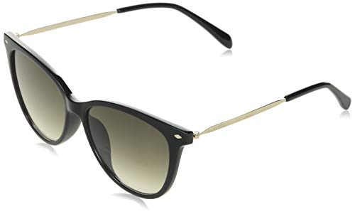 Fossil FOS 3083/S Sunglasses, Black, 54 Womens