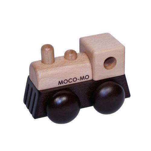 あたたかみのある、可愛らしいデザインのオルゴール MOCO-MO ころころオルゴール 汽車 アンパンマンのマーチ MM006-BN 〈簡易梱包