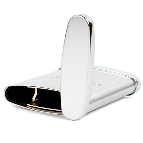 CARANd'ACHE(カランダッシュ)携帯灰皿サテン仕上げクロームCDA-0006