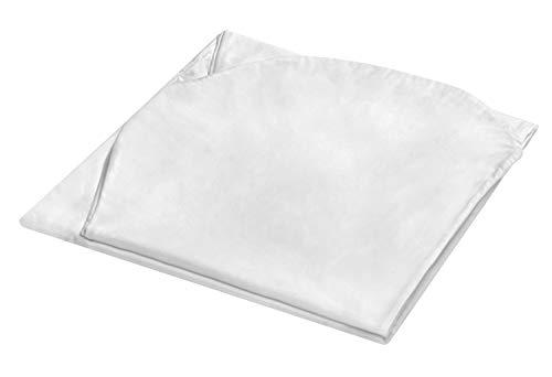 Traumnacht Jumbo XXL Bezug, für Seitenschläferkissen, Schwangerschaftskissen, Lagerungskissen in 140 x 75 x 20 cm, weiß