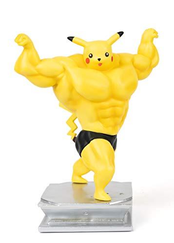 Muscular Pikachu Figurine