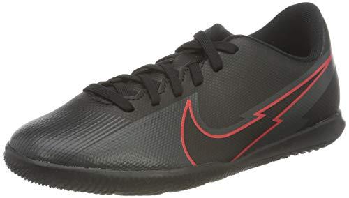 Nike Legend 8 Club IC, Scarpe per Calcetto a Cinque, Black Black Dk Smoke Grey, 36 EU